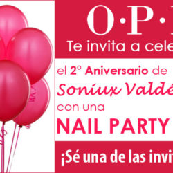 OPI Nail Party Soniux Valdés