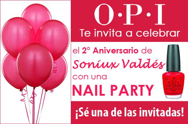 OPI Nail Party Soniux Valdés