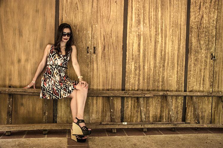 Fashion - Punk Tiger Dress by Soniux Valdés