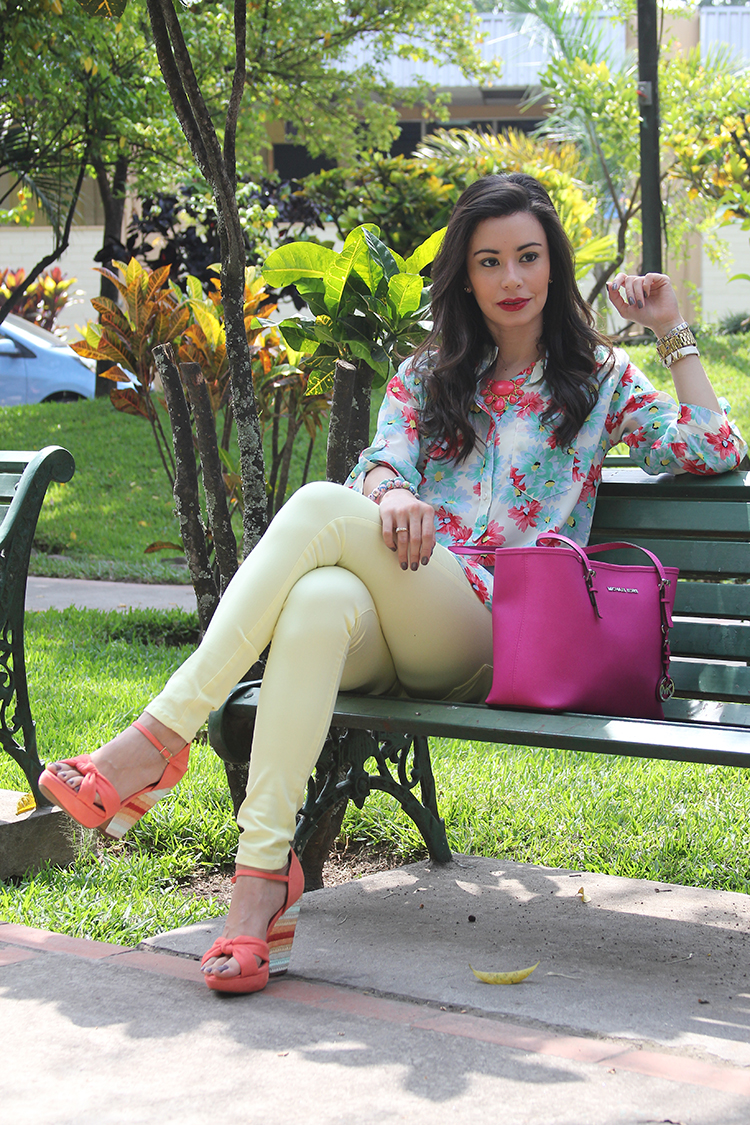 Fashion - Yellow Pants For The Summer by Soniux Valdés