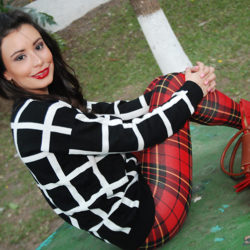 Fashion - Plaid Leggings by Soniux Valdés