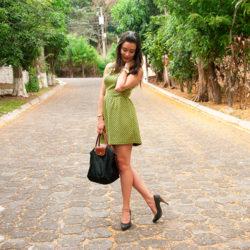 Fashion - Geo Fit & Flare Dress by Soniux Valdés