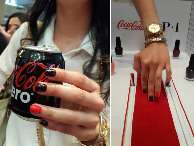 Beauty - Coca-Cola Collection by Opi by Sonia Valdés