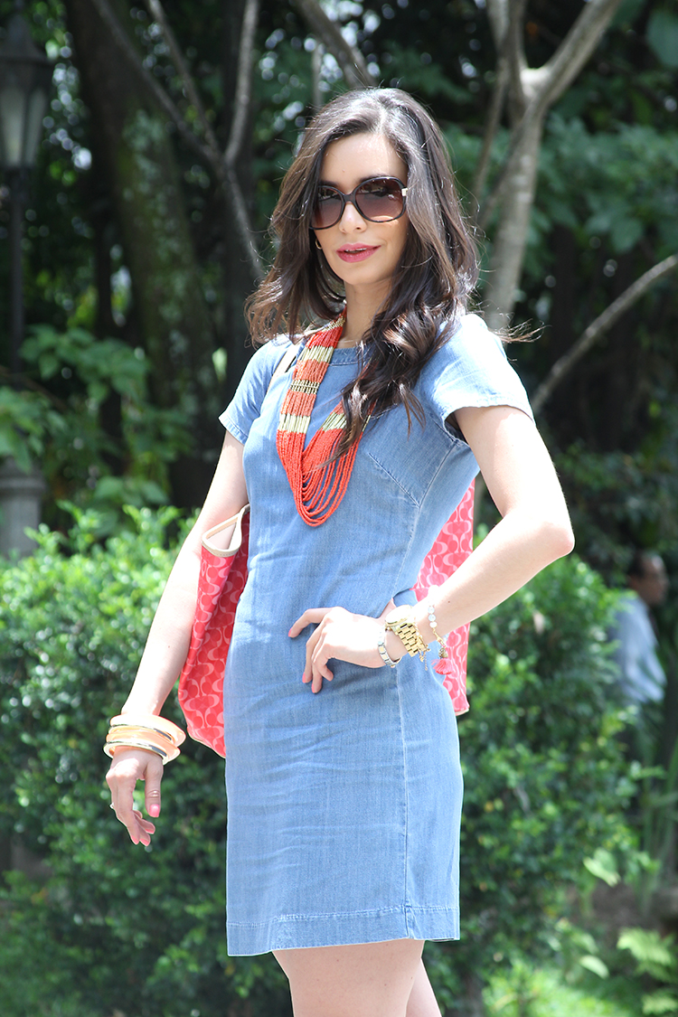 Fashion - Denim Dress by Sonia Valdés