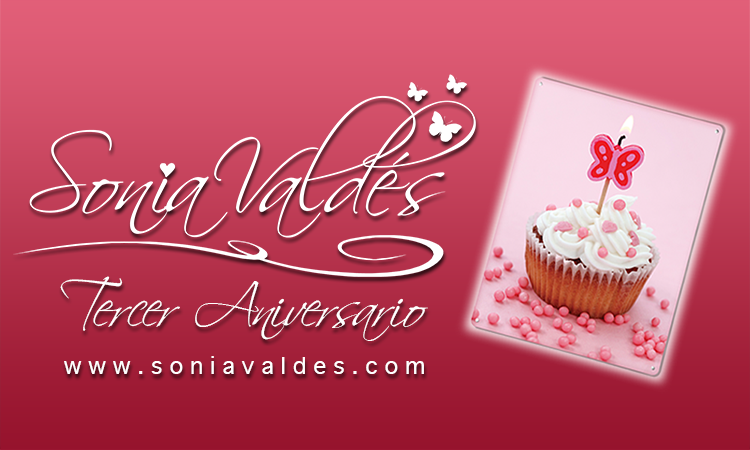 Sonia Valdes Tercer Aniversario