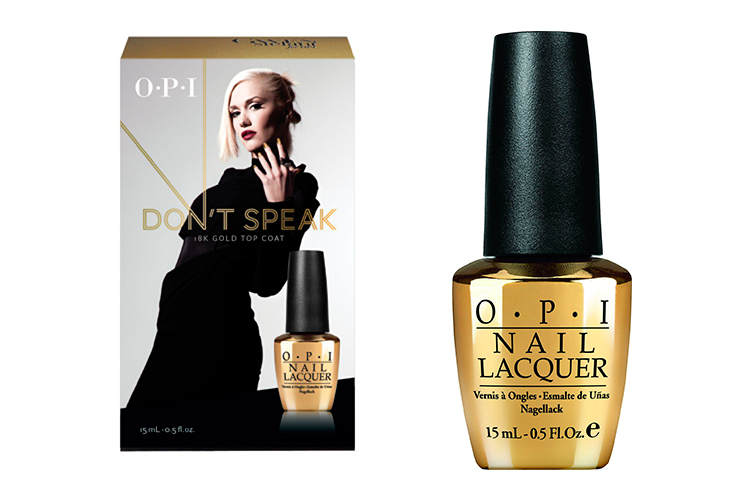 Dont-Speak-Gold-18k Gwen-Stefani-for-OPI by Sonia Valdés