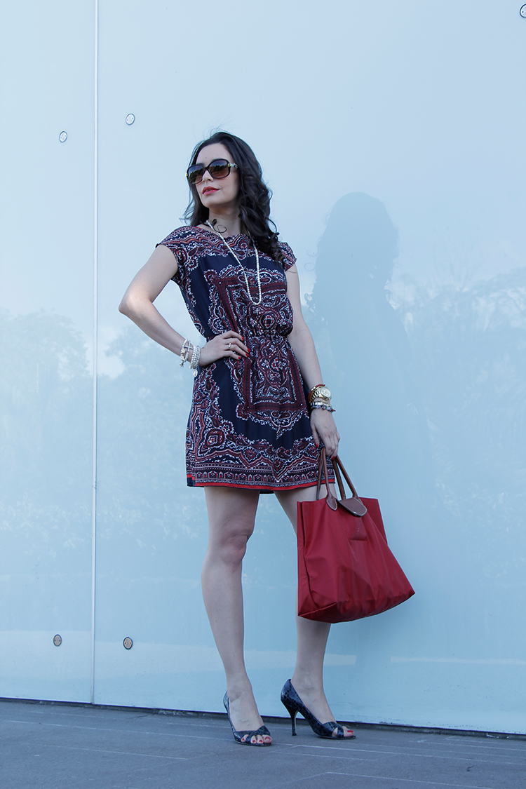 Fashion - Tunic Dress by Sonia Valdés