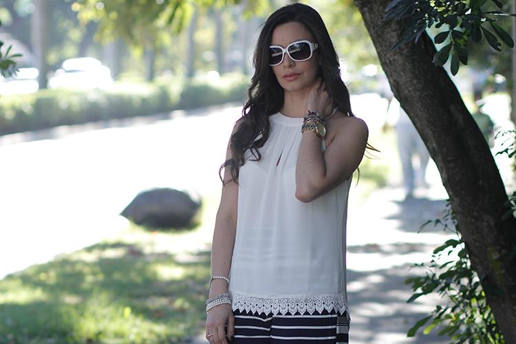Fashion - White Navy by Sonia Valdés