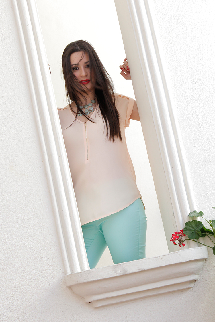 Fashion - Mint & Pink by Sonia Valdés