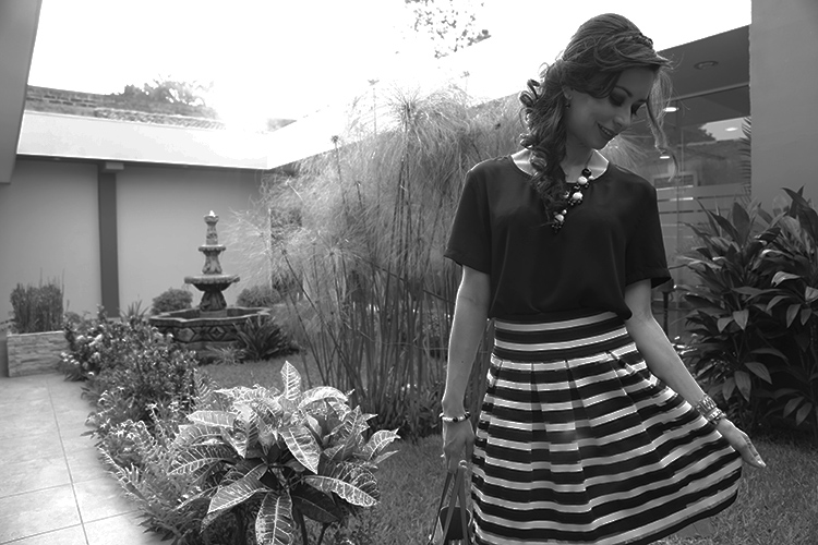Black, White & A Touch Of Color by Sonia Valdés