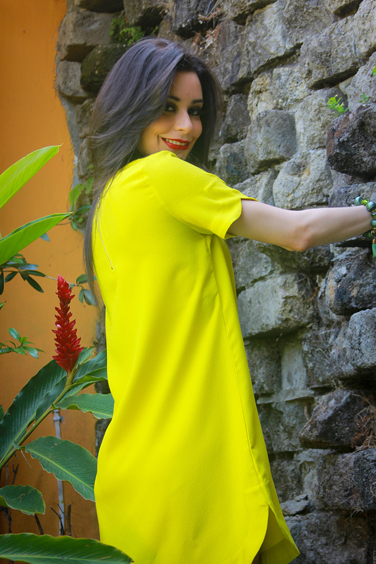 Fashion - Yellow Tunic by Sonia Valdés