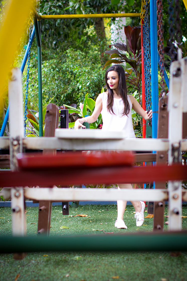 Fashion - At The Swings by Sonia Valdés