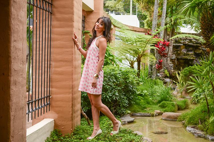 pink-floral-print-dress