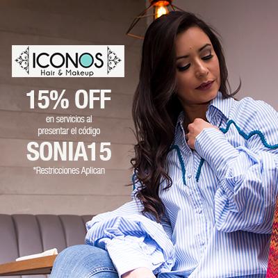 Cupón 15% Descuento Sonia Valdés